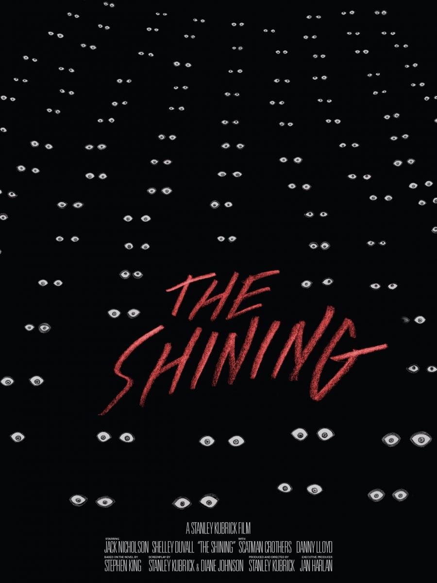 Daniel Easley The Shining Poster