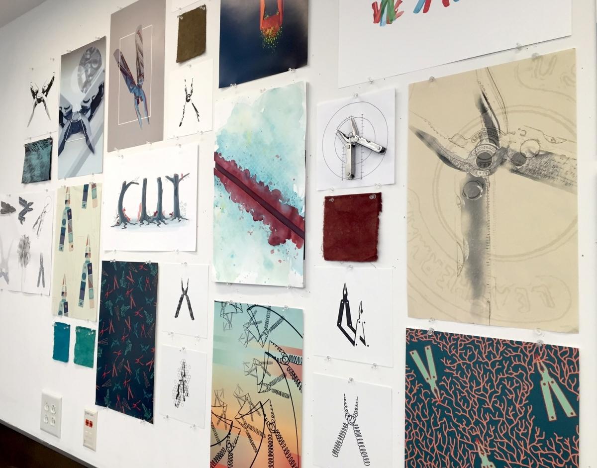 Graphic design portfolio examples for college www for Art decoration pdf
