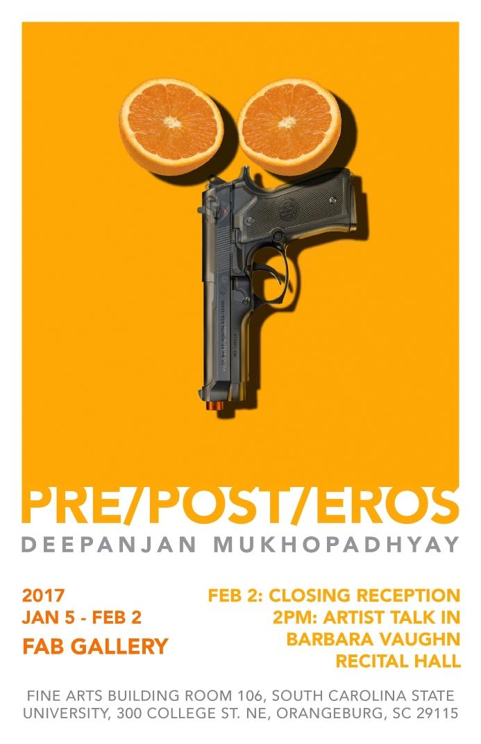 Pre/Post/Eros Poster