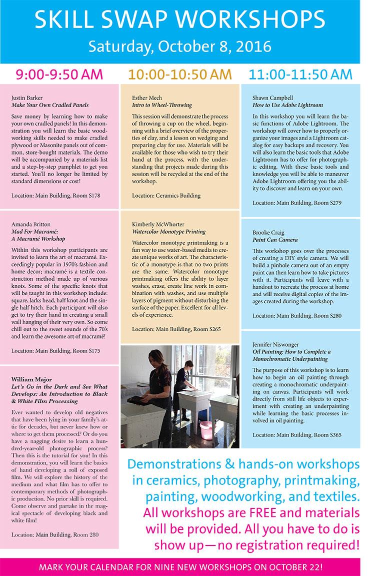 Skill Swap Workshop