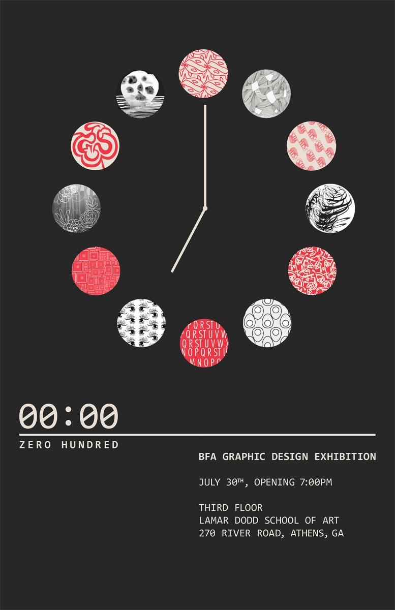 Bfa Exhibition Poster Summer16 Academic Area Graphic Design