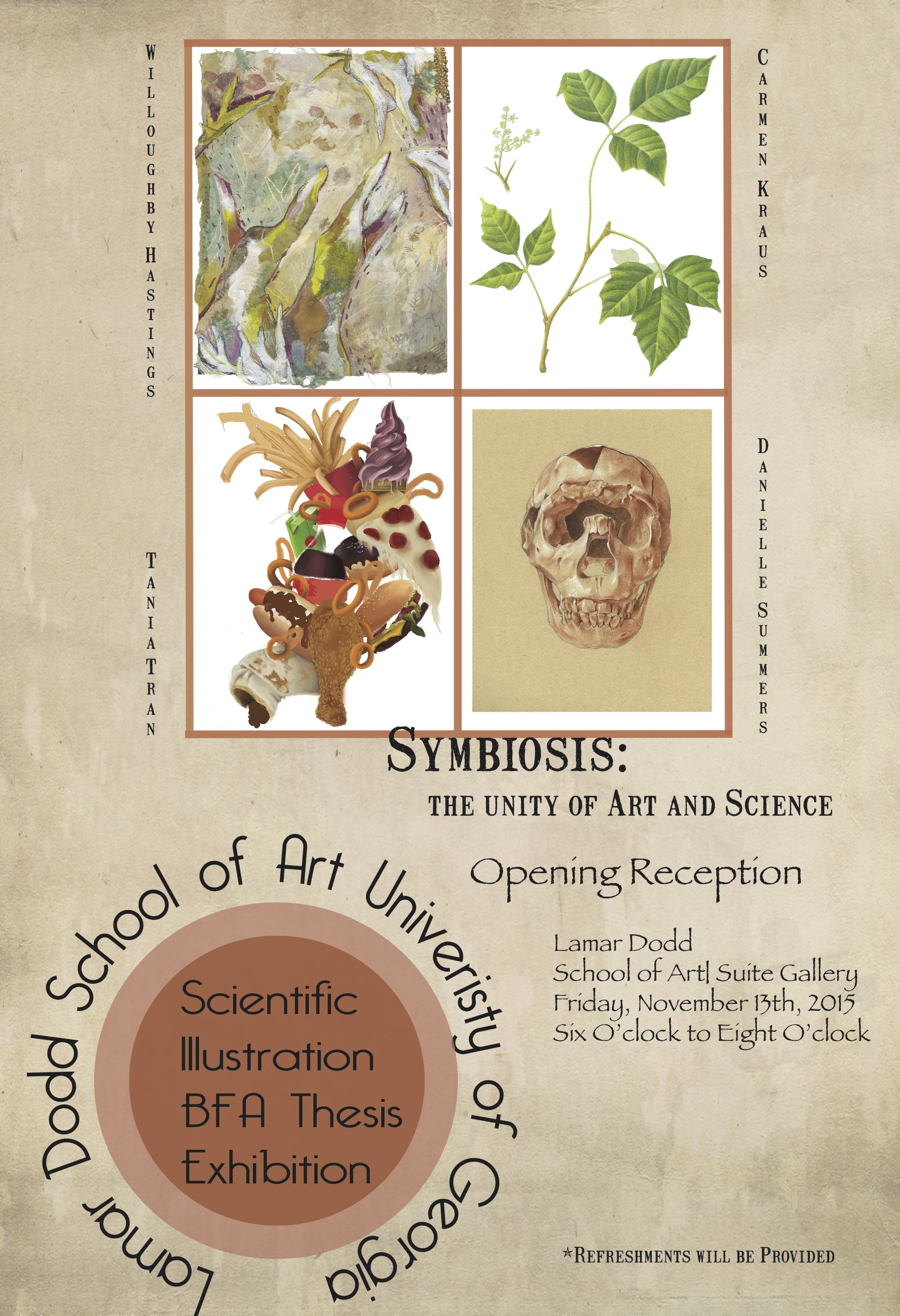 Scientific Illustration Exit Poster