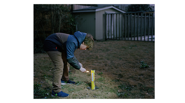 "Rylan Steele, ""Learning to Light a Match,"" 2017"