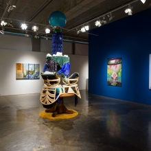 Installation view: Fountain