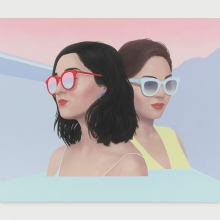 Ridley Howard, Pink Sky and Plastic Frames, 2019
