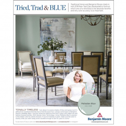 Alumn Clary Bosbyshell in Traditional Home Magazine