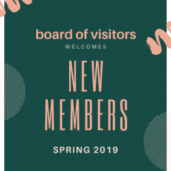 New Members Join the Board of Visitors
