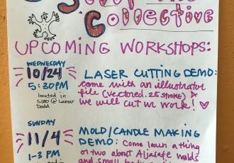 Mold/Candle Making Demo poster