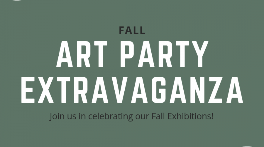 Fall Art Party Extravaganza poster